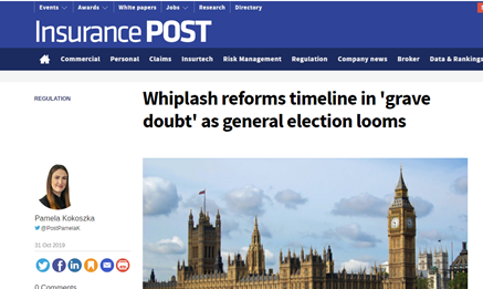 Whiplash reforms timeline in 'grave doubt' as general election looms